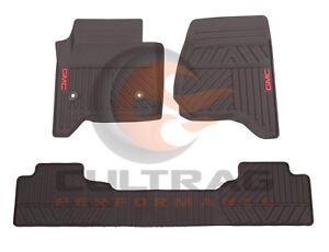 mtervngdm sierra floors new mats front bhp premium gmc black yukon ebay rubber oem logo floor