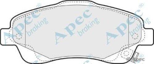 1x oe qualité remplacement APEC Essieu Avant Plaquettes de frein set