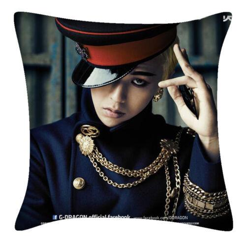 GD G-DRAGON BIGBANG Throw Hold Pillow Bolster Sofa Cushion Pillowcase DPW194