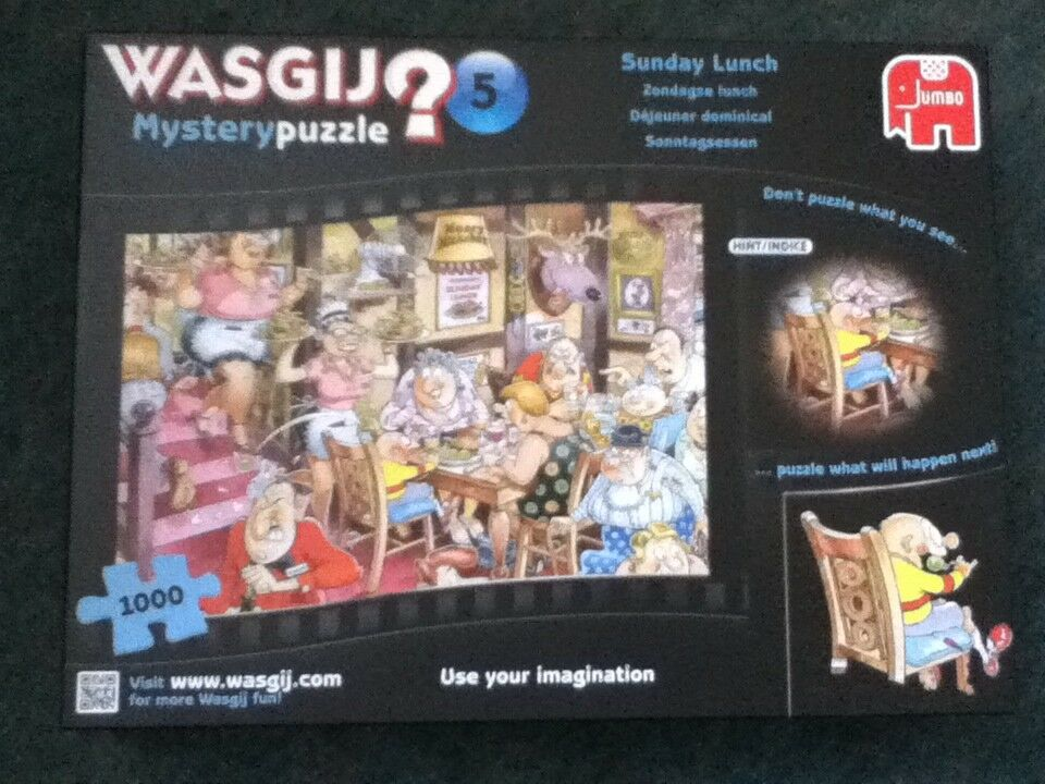 Sunday Lunch - Wasgij Mystery 5 - 1000 pieces mysterypuzzle - Jumbo