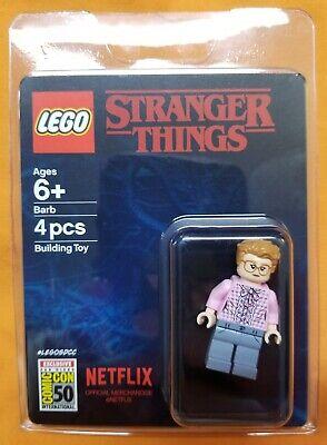 LEGO Custom UV Printed SDCC 2019 Inspired Stranger Things Barb Minifigure Fig.