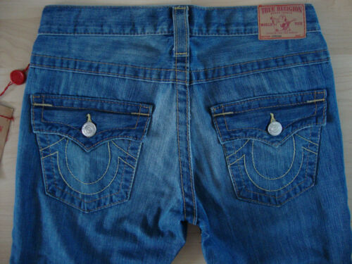 Jeans True Taglia Religion Straight Nuovo etichetta Pantaloni con in 25 Jordan Ladies Womens denim fxfnHwr4F