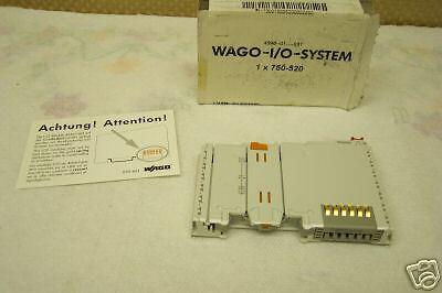 WAGO MODEL 750-520 I//O MODULE 750520 NEW