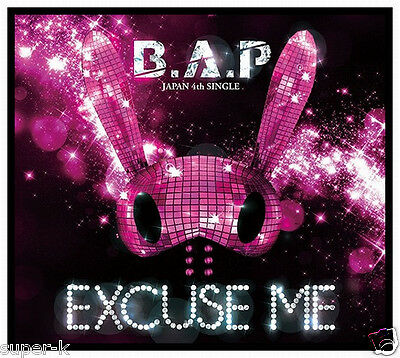 B.A.P Japan 4th Single [EXCUSE ME] (CD + GOODS) Limited Edition