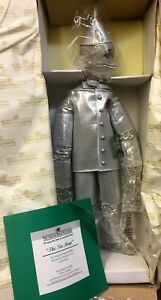 Dolls, Clothing & Accessories Generous Rare Ashton Drake Porcelain Doll The Tin Man Wizard Of Oz Collection 1994 Nib Pure White And Translucent