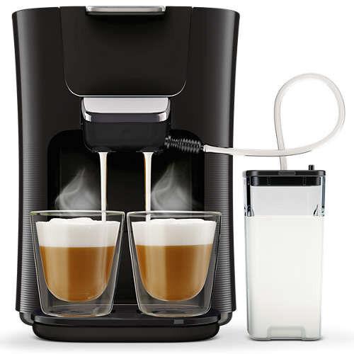 Philips HD6570//60 Senseo Latte Duo Plus Kaffeepadmaschine schwarz
