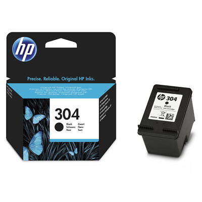 Original HP 304 Black Ink Cartridge For DeskJet 2630 Inkjet Printer