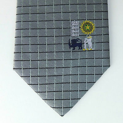 Sri Lanka India England cricket tie Edgbaston 2002 Vintage Tie Rack sports NEW