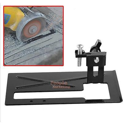 Adjustable Metal Cutting Machine Conversion Tool Angle Grinder Holder DIY Tools