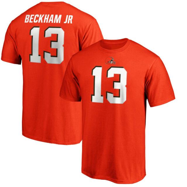 promo code d728d 87ebb Odell Beckham Jr. Cleveland Browns #13 Fanatics NFL T-Shirt Orange Jersey