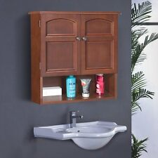 ELG501 Elegant Home Fashions Doors Wall Cabinet Bathroom Medicine ...
