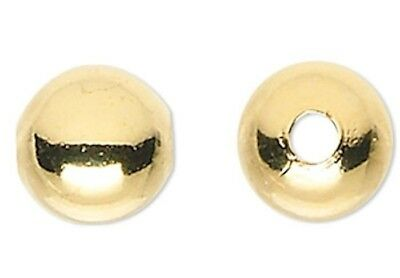 1000 Gold Plated Brass Small 2.5mm Round Corrugated Spacer Beads