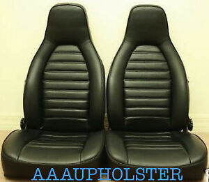 Vinyl Recovery Kit Covers For Porsche 924 944 1976 84 With Standard Seats Only Ebay
