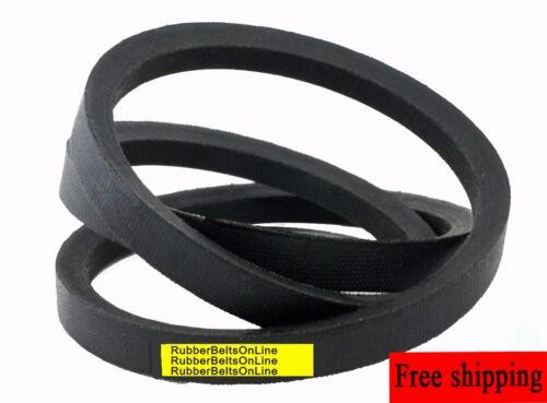 """Quality 1//2/"""" Wide 102/""""Long Length Rubber V Belt A100 Width .500/"""" VBelt 4L1020"""