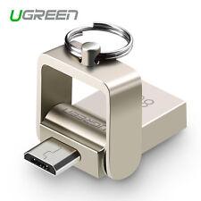 Ugreen OTG Micro USB 2in1 Flash Drive Swivel Memory Stick 8G Storage U Disk