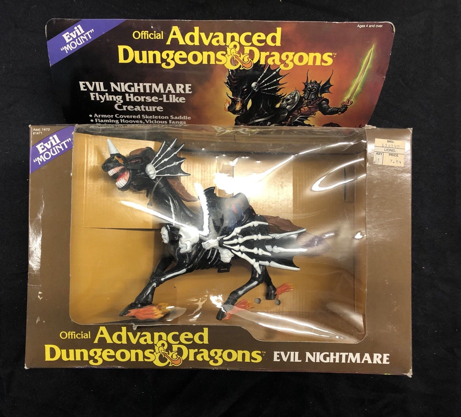 Advanced Dungeons & Dragons - Evil Nightmare 1983
