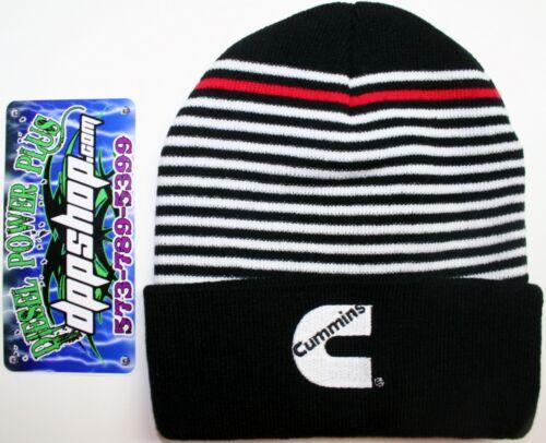 cummins dodge truck snow prowler beanie stocking hat ski cap toboggan earflap