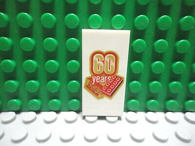 Friends Minifig Food 2x4 Printed FLAT WHITE TILE NEW Lego LEMONADE STAND SIGN