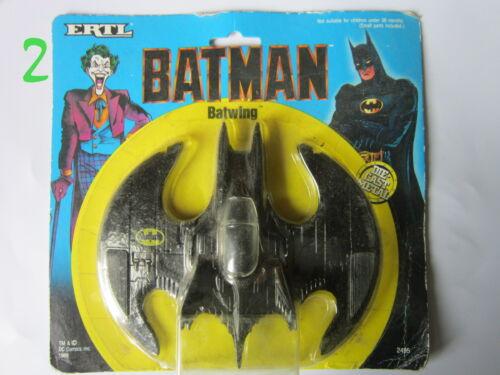 BATMAN  ERTL 1989 BATWING EN BLISTER