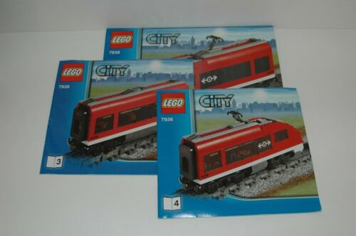 Lego Eisenbahn TRAIN 7938 Bauanleitung BA Anleitung INSTRUCTIONS