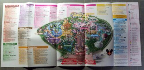 CA Anaheim Park Map Disneyland 2014