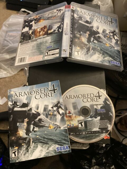Armored Core 4 *With Manual* (Sony PlayStation 3, 2007)