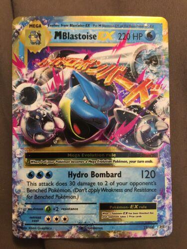 M Blastoise EX 22//108 Pack Fresh Never Played