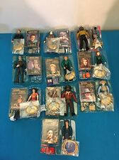 Lot Of 10 Mixed Playmates Star Trek Action Figures Complete Cards & Accessories