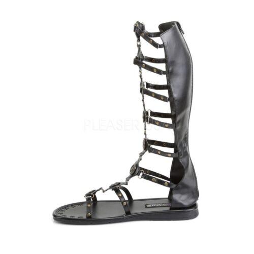 Roman Gladiator Rˆmer Funtasma Schwarz look sandaletten Herren Im 15 WCSgwqHHn