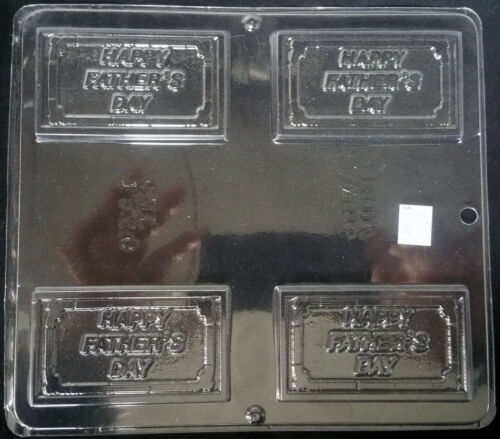 Father/'s Day Business Card Chocolate Plastic Candy Soap Mold CML 1520
