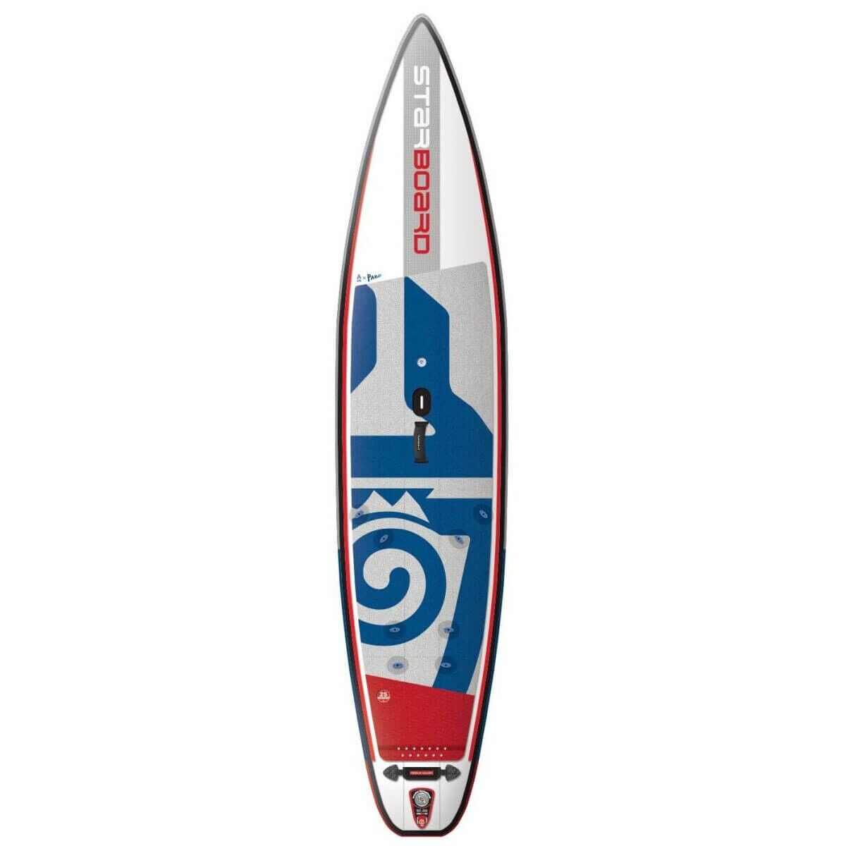 Starboard SUP 12'6  x 30  Waterman Touring Inflatable WindSUP 2019