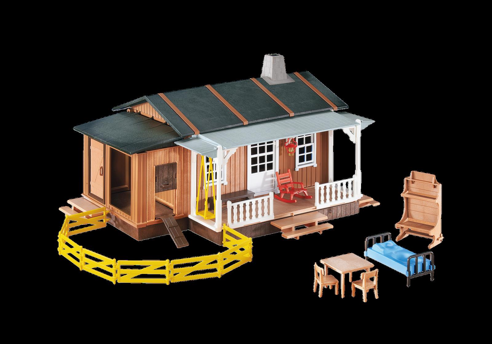 Playmobil Western Granja del oeste ref 6410 reedición DS 3769