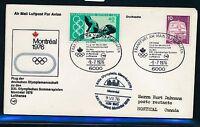 62937) Olympiade SF LH Frankfurt - Montreal 9.7.76, SoU MiF