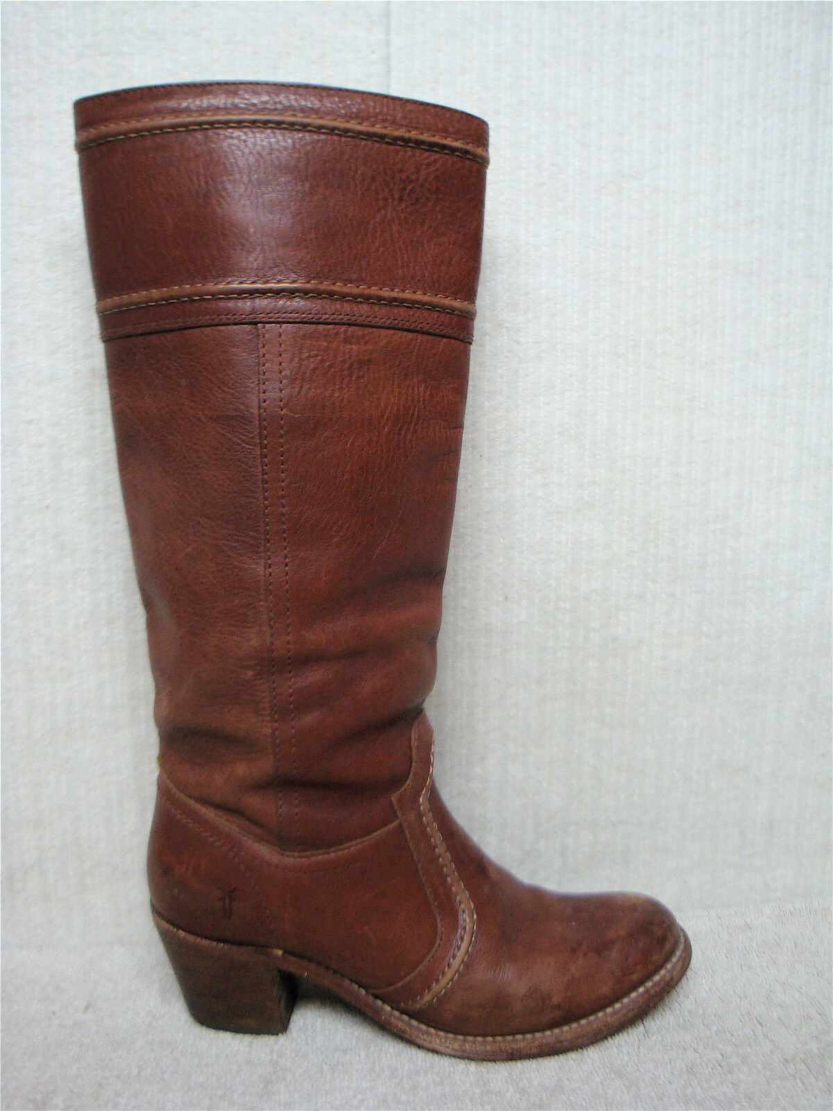 FRYE  - Jane Stitch - 77230 - Women's Brown Leather Boots - MSRP  328