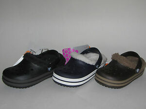 df826f66791da New Crocs CROCBAND MAMMOTH KIDS Clog Shoes Boys Girls SZ 6 7 8 9 10 ...