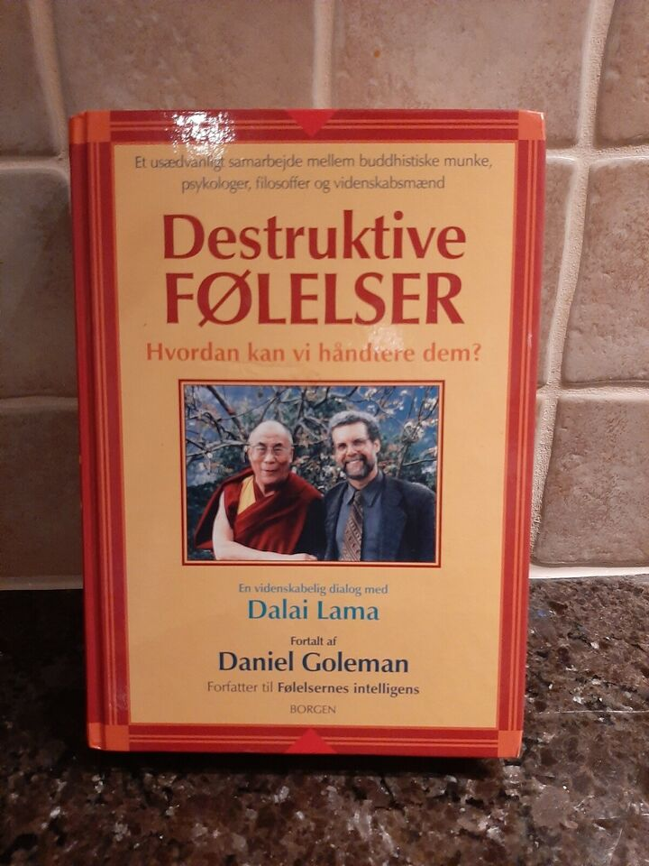 Destruktive følelser, Dalai Lama, år 2005