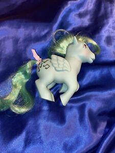 Vintage 1983 My Little Pony MEDLEY Pegasus Green Pony Music Notes MLP Hasbro