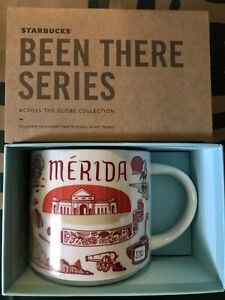 Starbucks Coffee Been There Series 14oz Mug MERIDA Mexico Cup w/SKU