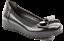 Ladies-Heavenly-Feet-Shoes-Ballerina-Dolly-Memory-Foam-Comfort-Bow-Wedge-Slip-On thumbnail 5