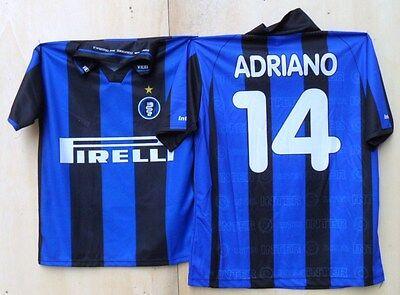 """Bello Falso/fake - """"maglia Da Calcio Adriano"""" - Tg. Xl"""