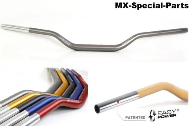 Manubrio 28,6 mm GRIGIO # KTM SX 65 # leggero - Stabile - gleitschale -