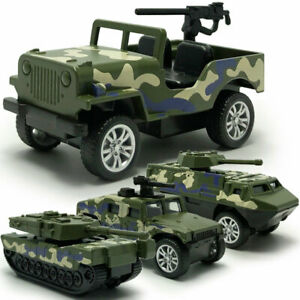 1-60-4PCS-Military-Vehicle-Army-Tank-Jeep-Model-Car-Diecast-Toy-Kids-Camouflage