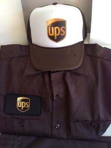 la foto se est cargando controlador de hombre de entrega de ups uniforme - Ups Man Halloween Costume