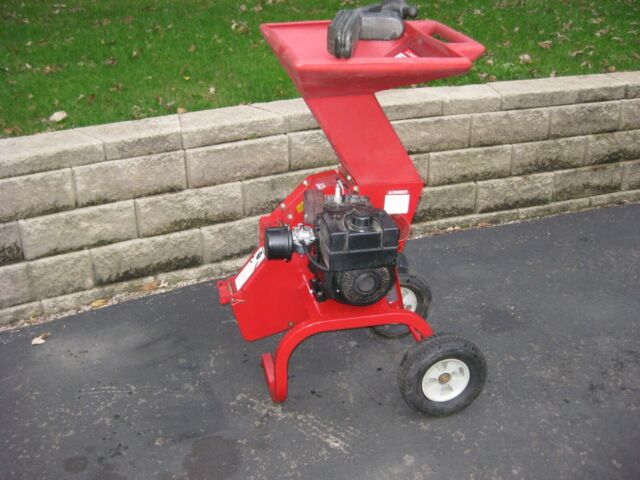 No Shipping Troy Bilt Junior Tomahawk Chipper Shredder Excellent Condition