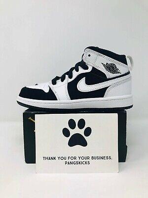 Nike Air Jordan 1 Mid 'Tuxedo' 640734-113 PS Size 13C | eBay