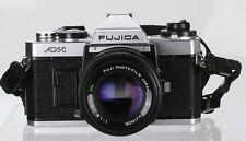 Fujica AX-1 Lens Fuji X-FUJINON 50 mm 1.6 DM  (Réf#R-038)