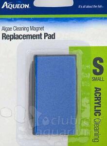Magnetic Algae Scrubber Pads Cleaning & Maintenance Fish & Aquariums