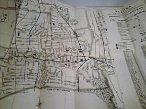 Details about Vintage 1960's Verona New Jersey City Map-NJ-Cedar  Grove-First National Bank