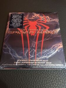 Hans-Zimmer-2-CD-Banda-Sonora-The-Amazing-Spiderman-2-Edicion-Especial