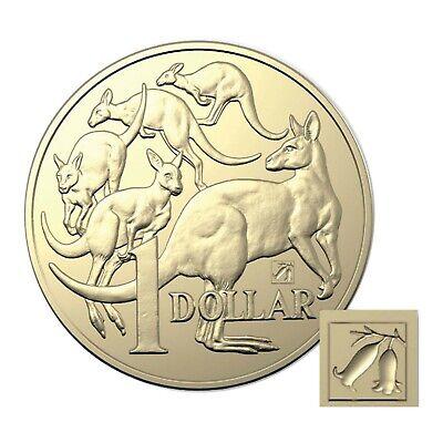 Mob of Roos $1 Dollar Coin Privy Mark Australia 2019 ANDA Common Heath